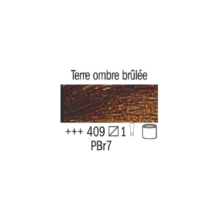 VAN GOGH HUILE 60ML S1 409 TERRE DOMBRE BRULEE