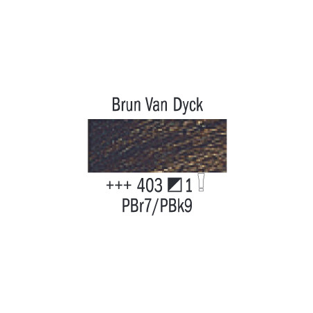 VAN GOGH HUILE 60ML S1 403 BRUN DE VAN DYCK