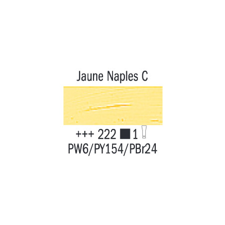 VAN GOGH HUILE 60ML S1 222 JAUNE DE  NAPLES CLAIR