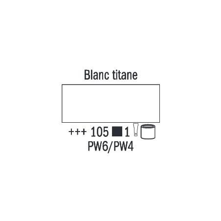 VAN GOGH HUILE 60ML S1 105  BLANC DE TITANE