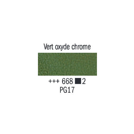 VAN GOGH HUILE 20ML S2 668 VERT OXYDE DE CHROME