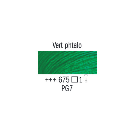 VAN GOGH HUILE 20ML S1 675 VERT PHTALO