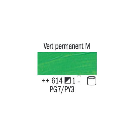VAN GOGH HUILE 20ML S1 614 VERT PERMANANT MOYEN