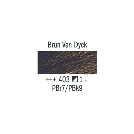 VAN GOGH HUILE 20ML S1 403 BRUN VAN DYCK