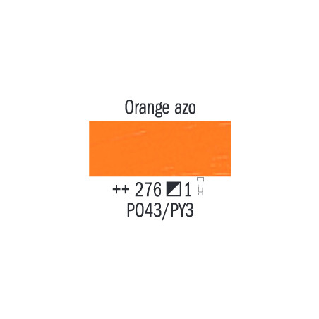 VAN GOGH HUILE 20ML S1 276 ORANGE  AZO