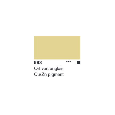 LASCAUX STUDIO BRONZE 500ML 993 OR VERT ANGLAIS