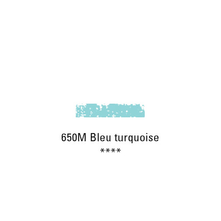 SCHMINCKE PASTEL TENDRE 650M BLEU TURQUOISE