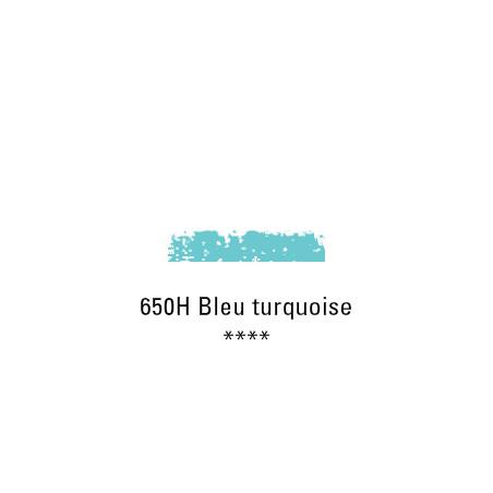 SCHMINCKE PASTEL TENDRE 650H BLEU TURQUOISE