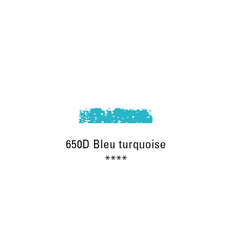 SCHMINCKE PASTEL TENDRE 650D BLEU TURQUOISE