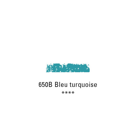 SCHMINCKE PASTEL TENDRE 650B BLEU TURQUOISE