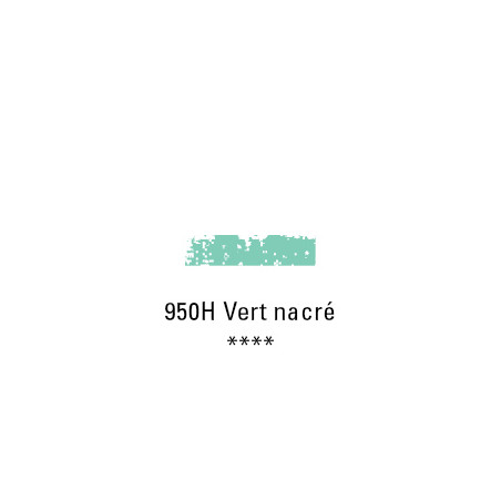 SCHMINCKE PASTEL TENDRE 950H VERT NACRE