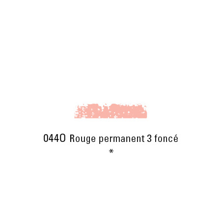 SCHMINCKE PASTEL TENDRE 044O ROUGE PERM 3 FC