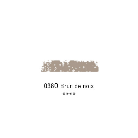 SCHMINCKE PASTEL TENDRE 038O BRUN DE NOIX