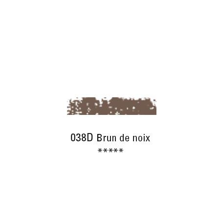 SCHMINCKE PASTEL TENDRE 038D BRUN DE NOIX