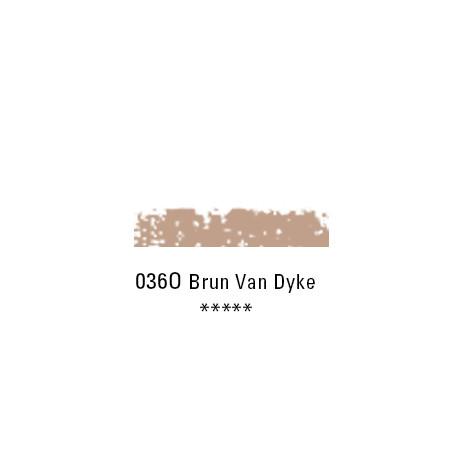 SCHMINCKE PASTEL TENDRE 036O BRUN VAN DYCK