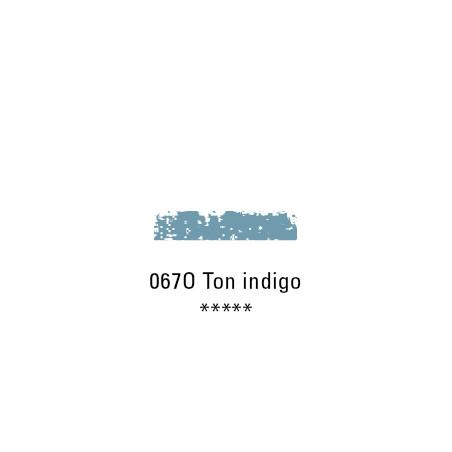 SCHMINCKE PASTEL TENDRE 067O TON BLEU INDIGO