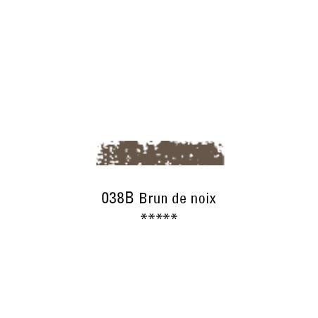 SCHMINCKE PASTEL TENDRE 038B BRUN DE NOIX