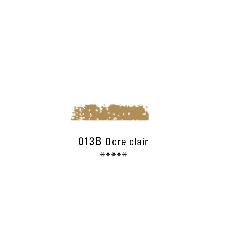 SCHMINCKE PASTEL TENDRE 013B OCRE CLAIR