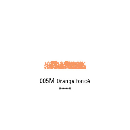 SCHMINCKE PASTEL TENDRE 005M ORANGE FONCE