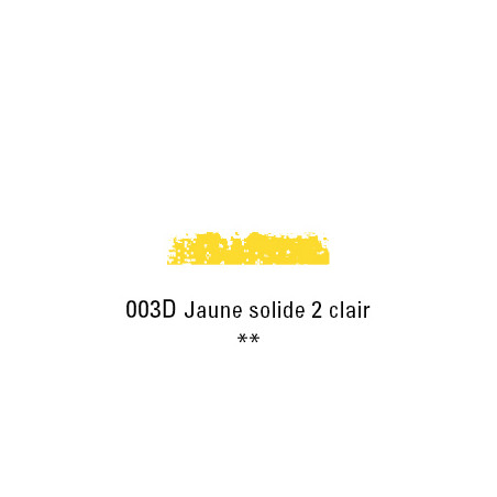 SCHMINCKE PASTEL TENDRE 003D JNE SOLIDE 2 CL