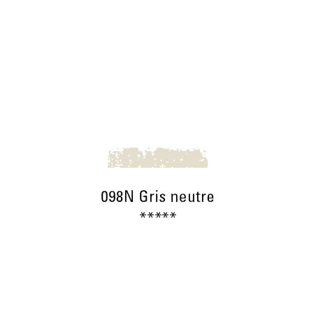 SCHMINCKE PASTEL TENDRE 098N GRIS NEUTRE