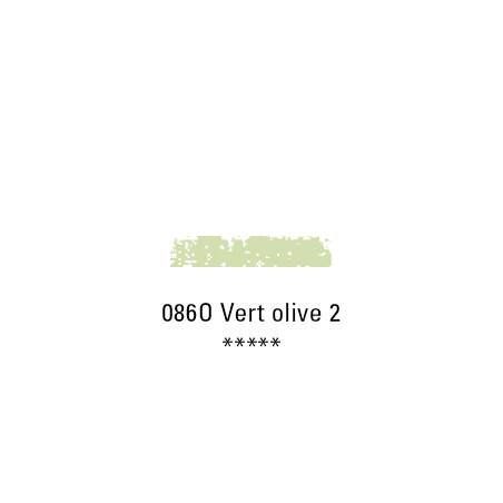 SCHMINCKE PASTEL TENDRE 086O VERT OLIVE 2