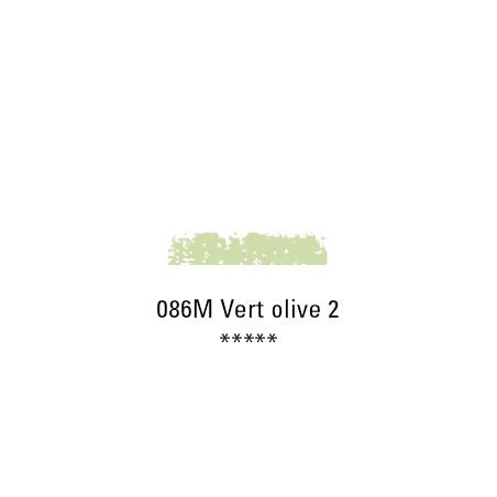 SCHMINCKE PASTEL TENDRE 086M VERT OLIVE 2