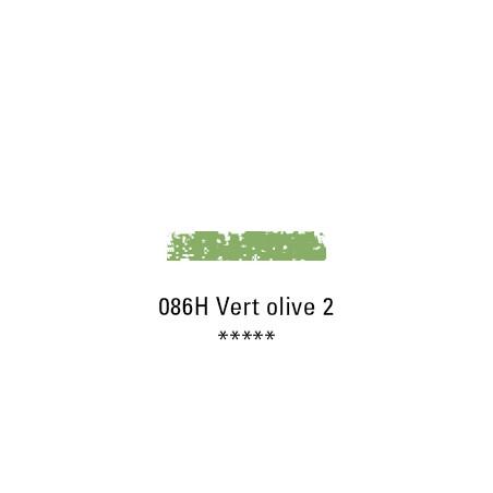 SCHMINCKE PASTEL TENDRE 086H VERT OLIVE 2