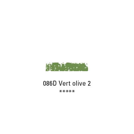 SCHMINCKE PASTEL TENDRE 086D VERT OLIVE 2