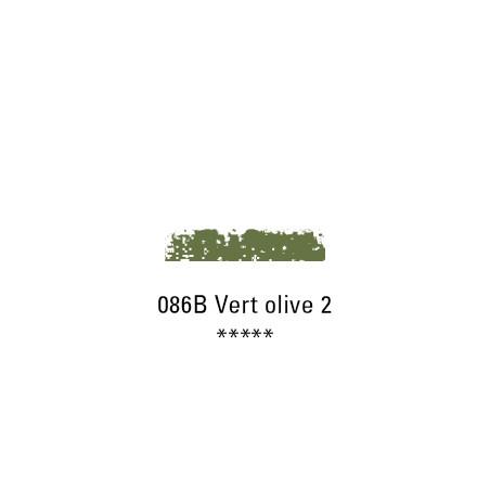 SCHMINCKE PASTEL TENDRE 086B VERT OLIVE 2