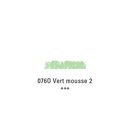 SCHMINCKE PASTEL TENDRE 076O VERT MOUSSE 2