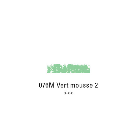 SCHMINCKE PASTEL TENDRE 076M VERT MOUSSE 2