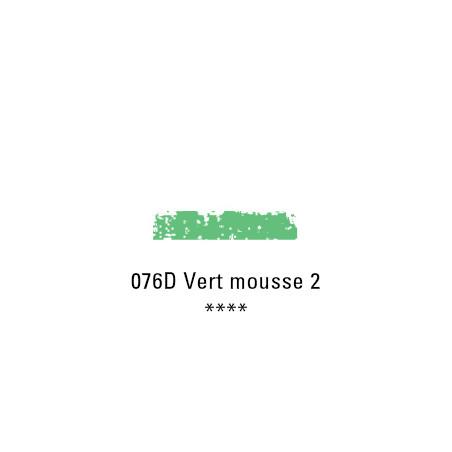 SCHMINCKE PASTEL TENDRE 076D VERT MOUSSE 2