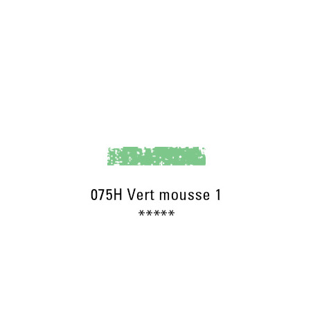 SCHMINCKE PASTEL TENDRE 075H VERT MOUSSE 1