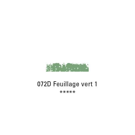 SCHMINCKE PASTEL TENDRE 072D FEUILLAGE VERT 1