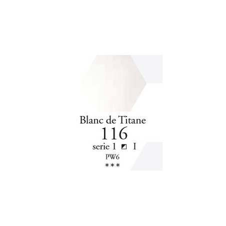 SENNELIER AQUA EXTRA FINE GODET S1 116 BLANC DE TITANE