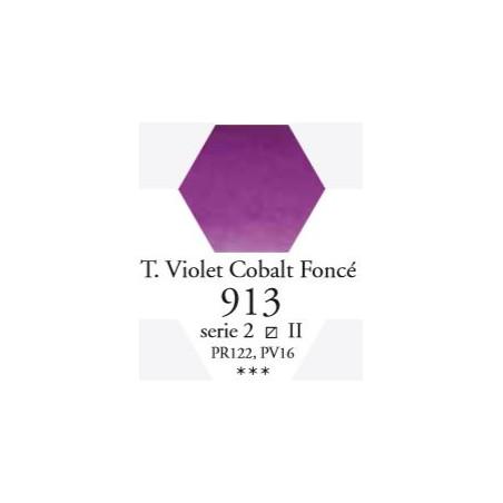SENNELIER AQUA EXTRA FINE 1/2 GODET S2 913  TON VIOLET DE COBALT FONC