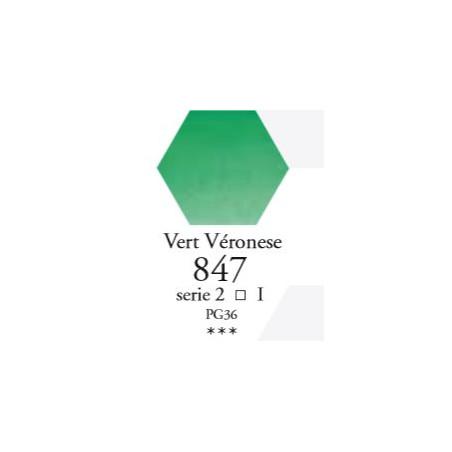 SENNELIER AQUA EXTRA FINE 1/2 GODET S1 847  VERT VÉRONESE