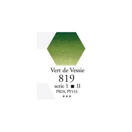 SENNELIER AQUA EXTRA FINE 1/2 GODET S1 819  VERT DE VESSIE