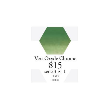 SENNELIER AQUA EXTRA FINE 1/2 GODET S3 815  VERT OXYDE CHROME