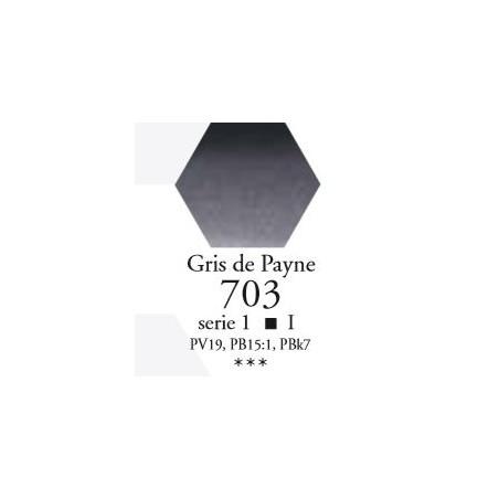 SENNELIER AQUA EXTRA FINE 1/2 GODET S1 703  GRIS DE PAYNE
