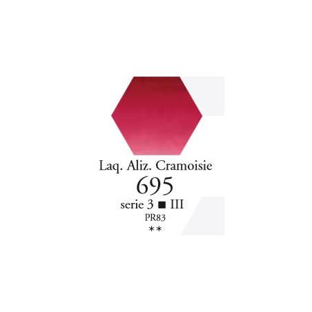 SENNELIER AQUA EXTRA FINE 1/2 GODET S3 695  LAQUE ALIZARINE CRAMOISIE
