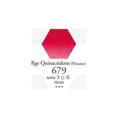 SENNELIER AQUA EXTRA FINE 1/2 GODET S3 679  ROUGE DE QUINACRIDONE (PR