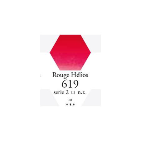 SENNELIER AQUA EXTRA FINE 1/2 GODET S2 619  ROUGE HÉLIOS