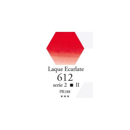 SENNELIER AQUA EXTRA FINE 1/2 GODET S2 612  LAQUE ECARLATE