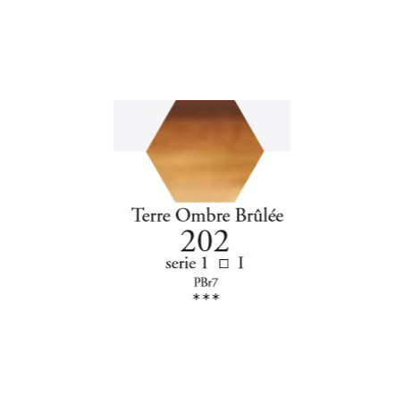 SENNELIER AQUA EXTRA FINE TUBE 21ML S1 202 TERRE D'OMBRE BRÛLÉE