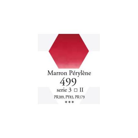 SENNELIER AQUA EXTRA FINE 1/2 GODET S3 499  MARRON PÉRYLÈNE