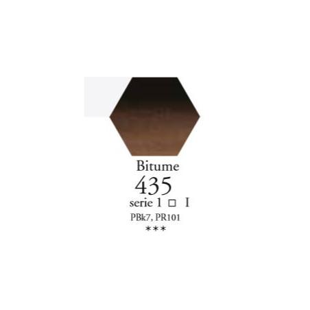 SENNELIER AQUA EXTRA FINE 1/2 GODET S1 435  BITUME
