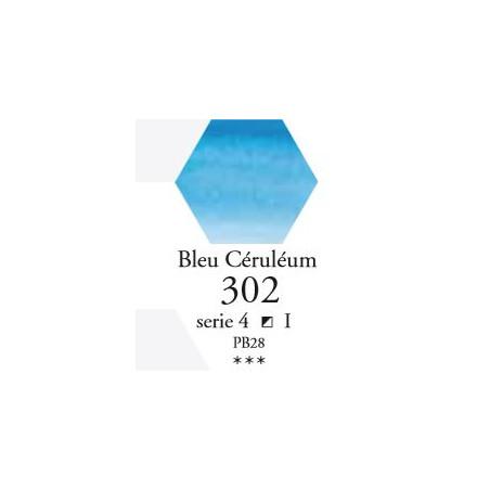 SENNELIER AQUA EXTRA FINE 1/2 GODET S4 302  BLEU CÉRULÉUM