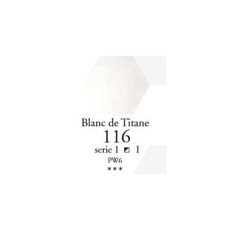 SENNELIER AQUA EXTRA FINE 1/2 GODET S1 116  BLANC DE TITANE